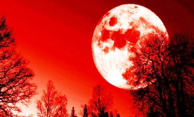 Tối 31/01, trăng máu, trăng xanh và siêu trăng sẽ cùng hội tụ - H1