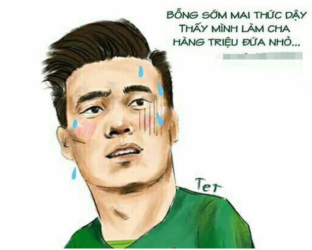 Tiến Dũng, Quang Hải 'đốn tim' fan nữ sau chiến thắng trận bán kết - H1