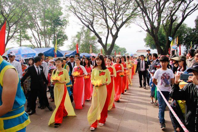 Đoàn Nghệ thuật Hồng Ân hâm nóng lễ hội Đống Đa – Tây Sơn Bình Định - H9