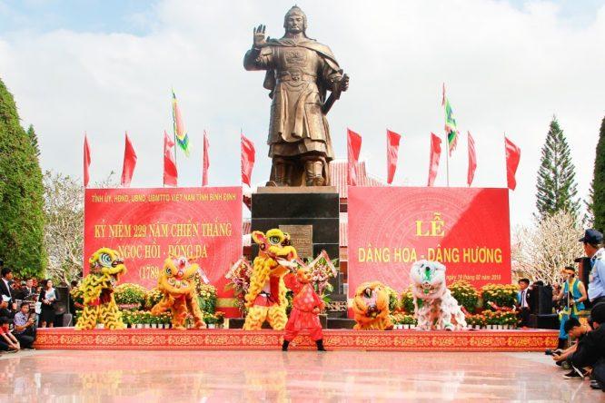 Đoàn Nghệ thuật Hồng Ân hâm nóng lễ hội Đống Đa – Tây Sơn Bình Định - H15