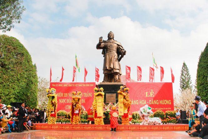Đoàn Nghệ thuật Hồng Ân hâm nóng lễ hội Đống Đa – Tây Sơn Bình Định - H16