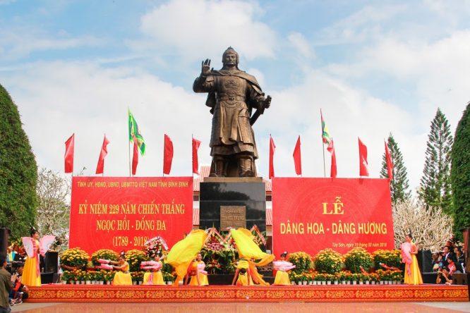 Đoàn Nghệ thuật Hồng Ân hâm nóng lễ hội Đống Đa – Tây Sơn Bình Định - H19