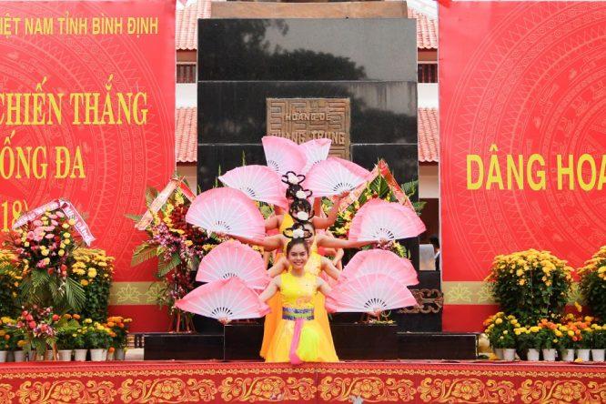 Đoàn Nghệ thuật Hồng Ân hâm nóng lễ hội Đống Đa – Tây Sơn Bình Định - H20