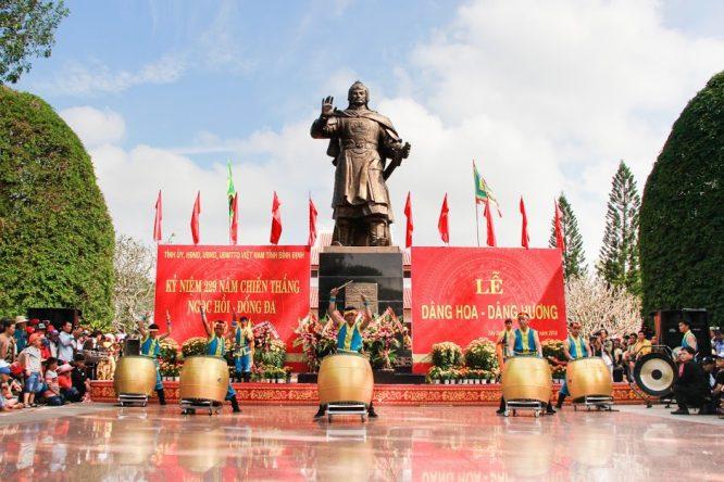 Đoàn Nghệ thuật Hồng Ân hâm nóng lễ hội Đống Đa – Tây Sơn Bình Định - H22