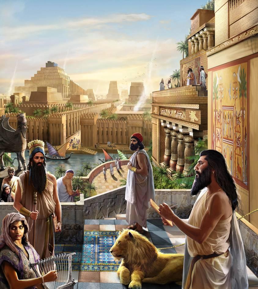 Tại sao vương quốc Babylon một thời huy hoàng lại bị hủy diệt? - ảnh 2