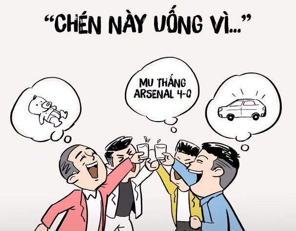 """Những câu """"ép"""" rượu gây ám ảnh: Bạn thuộc dạng ép hay bị ép? H2"""