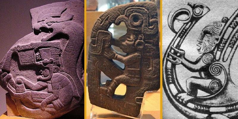 Sự giống nhau kỳ lạ giữa các vị Thần trong một số nền văn hóa cổ đại - ảnh 1