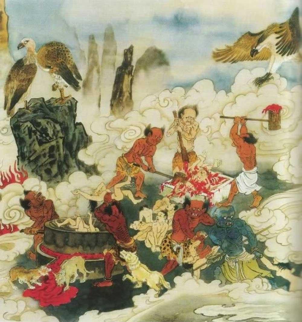 Phỉ báng Thần Phật lập tức rơi xuống địa ngục, Phật Pháp uy nghiêm không thể khinh nhờn - ảnh 2