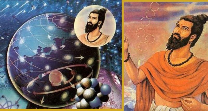 Thuyết nguyên tử đã được một nhà hiền triết Ấn Độ phát triển từ 2.600 năm trước