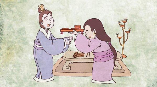 Nghĩa phu thê xưa: Vợ chồng tôn kính nhau như khách