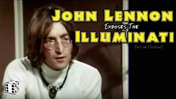 22 nhân vật nổi tiếng bị trừ khử khi cố gắng rời bỏ Hội Illuminati - John Lennon