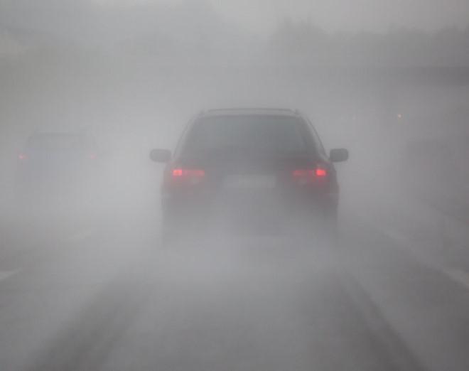 Vợ chồng TS. Geraldo Vidal đã bất ngờ biến mất cùng chiếc xe trong màn sương u tối. (Ảnh: beyondsciencetv.com)
