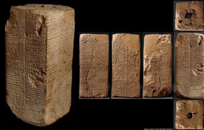 Methuselah - Người đàn ông sống đến 969 tuổi trước trận Đại Hồng Thủy - Danh sách các vị vua Sumer cổ đại