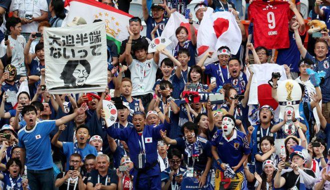 World Cup 2018: Hành động đẹp của cổ động viên Nhật Bản sau chiến tích lịch sử. 2