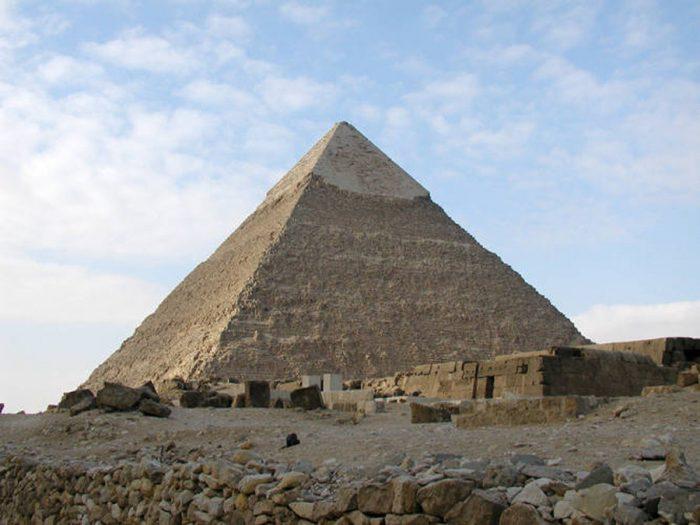 Kim Tự Tháp Khafre của Ai Cập. ( Ảnh: Jon Bodsworth/Wikipedia)