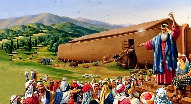 Theo Kinh Thánh, Noah là vị tộc trưởng cuối cùng trước khi cơn Đại hồng thủy quét qua Trái đất. (Ảnh qua Főoldal)