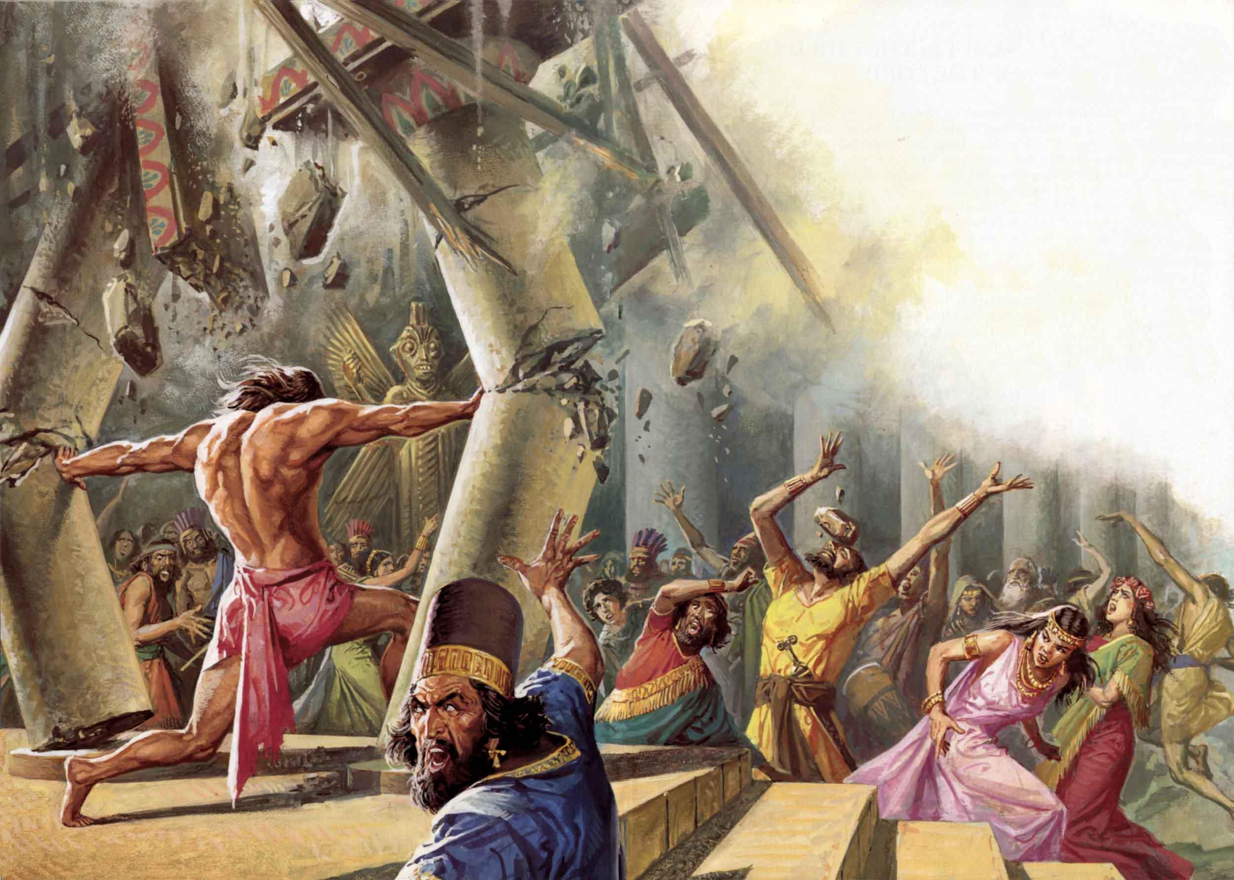 """Nhân vật """"siêu anh hùng"""" Samson trong Kinh Thánh là có thật? - ảnh 4"""