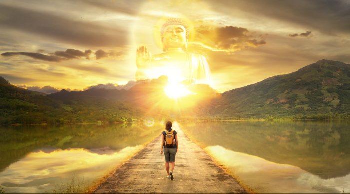 Thần Phật không online, Thần Phật nằm trong tâm của mỗi người.1
