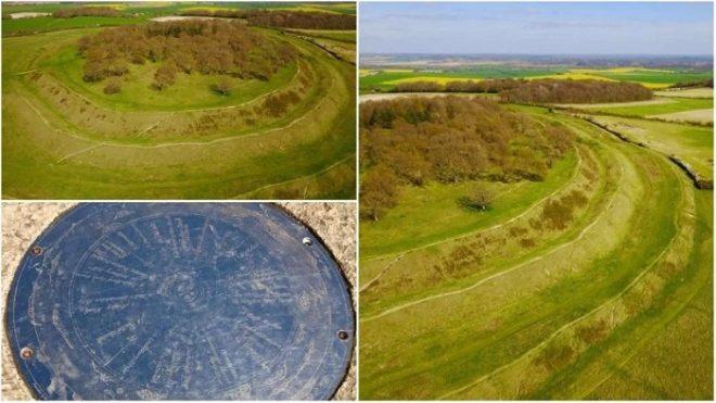 Pháo đài Badbury Rings: Chứng nhân cho trận chiến của vua Arthur chống lại người Saxon - H1