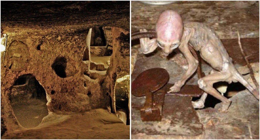 """Vương quốc dưới lòng đất và """"người chuột"""" bí ẩn chỉ cao 90cm"""