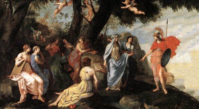 9 Nữ Thần Muse: Người trao cảm hứng cho các thi nhân vĩ đại trong lịch sử - H1