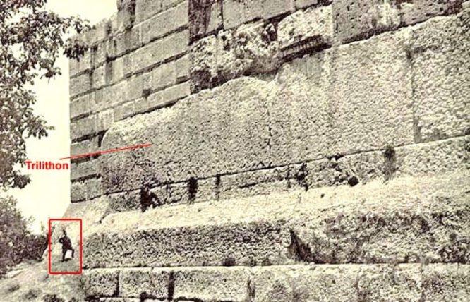 Ngôi đền Jupiter ở Li Băng: Kích cỡ đồ sộ đến mức vượt quá công nghệ hiện nay.2