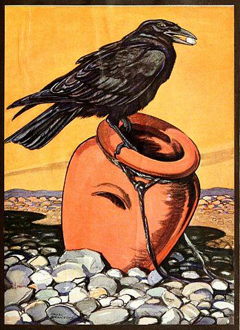 Loài quạ ngày Thất Tịch qua các tác phẩm hội họa thế giới. Ảnh 2