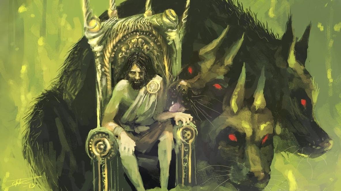 Hades, một trong những vị thần không có trên núi Olympus.