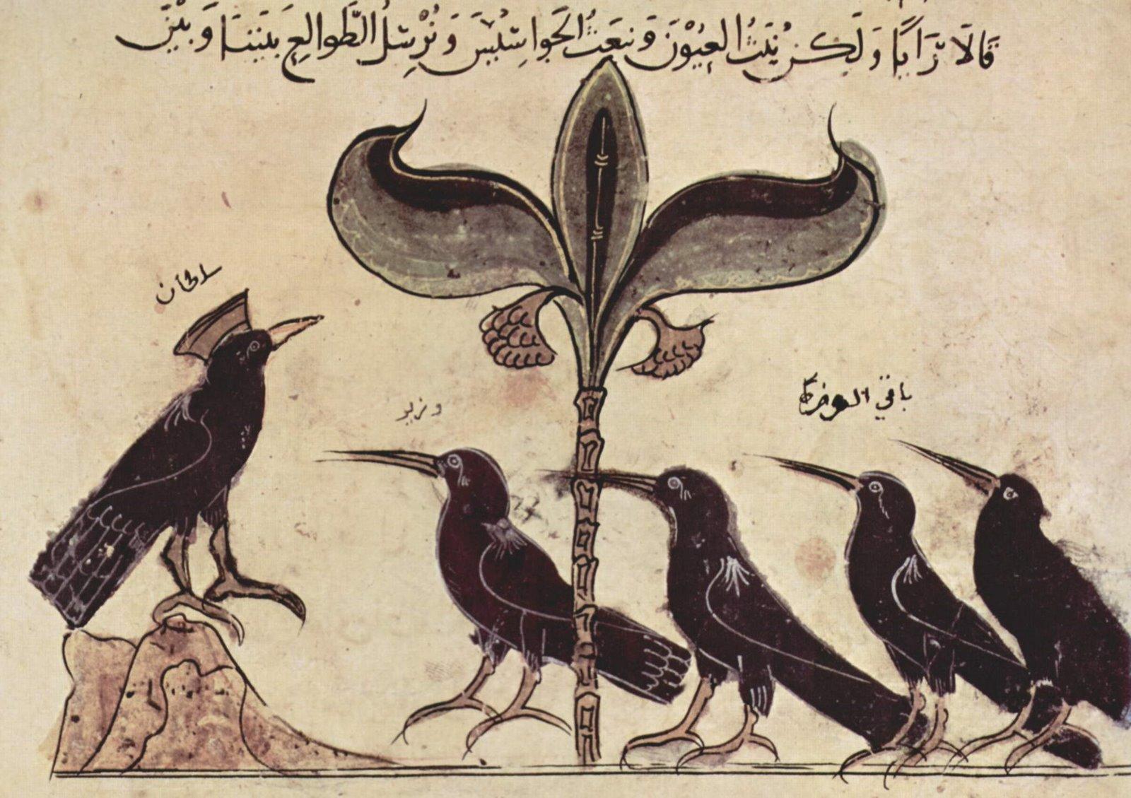 Loài quạ ngày Thất Tịch qua các tác phẩm hội họa thế giới. Ảnh 3