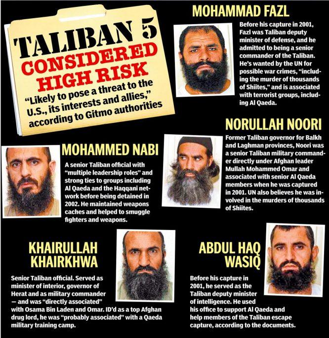 Obama từng thả 5 thủ lĩnh khủng bố để đổi lấy 1 binh sĩ phản bội - H2