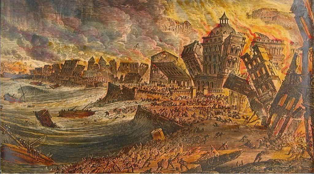 Chúa đã giáng thiên tai trừng phạt Lisbon của Bồ Đào Nha vào thế kỷ 18? - ảnh 1