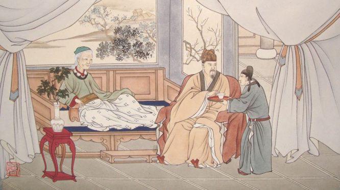 Cửu Hoa Sơn hiển linh, rửa nỗi oan cho con dâu hiếu đạo - ảnh 1