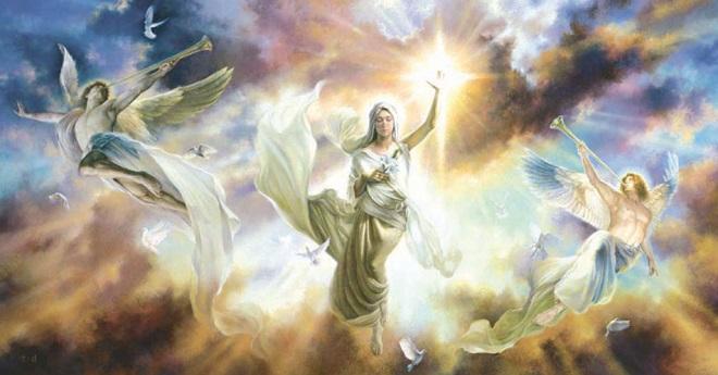 Thiên sứ của Đức Chúa trời. (Ảnh qua Puzzle Warehouse)