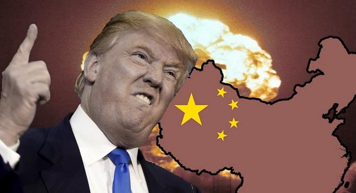 Hành động của Tổng thống Mỹ Trump đã khiến giới lãnh đạo Trung Quốc kinh hoảng. (Ảnh: Shanka Cheryl)