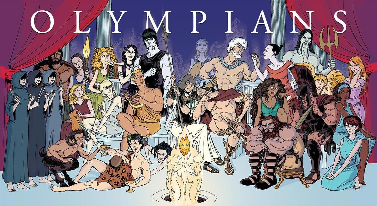 12 vị thần Hy Lạp. (Ảnh từ olympiansrule)