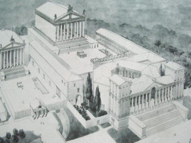 Ngôi đền Jupiter ở Li Băng: Kích cỡ đồ sộ đến mức vượt quá công nghệ hiện nay.5