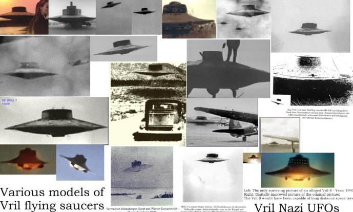 UFO Vril chụp được ở Nam Cực