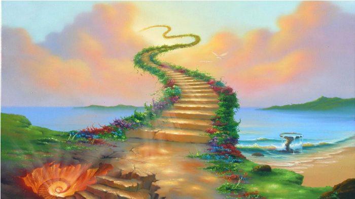 Sau khi người ta chết, lên thiên đường hay xuống địa ngục là ở nội tâm.1