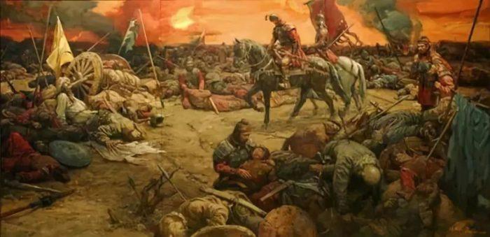 Hai nước Tề, Sở thừa cơ đánh vào nước Lỗ, khiến đất nước này mấy năm liền bị quấy nhiễu.