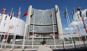 Hôm 25/9, học viên Pháp Luân Công tập hợp bên ngoài trụ sở Liên Hiệp Quốc để thỉnh nguyện kêu gọi chấm dứt cuộc bức hại tàn khốc của ĐCSTQ