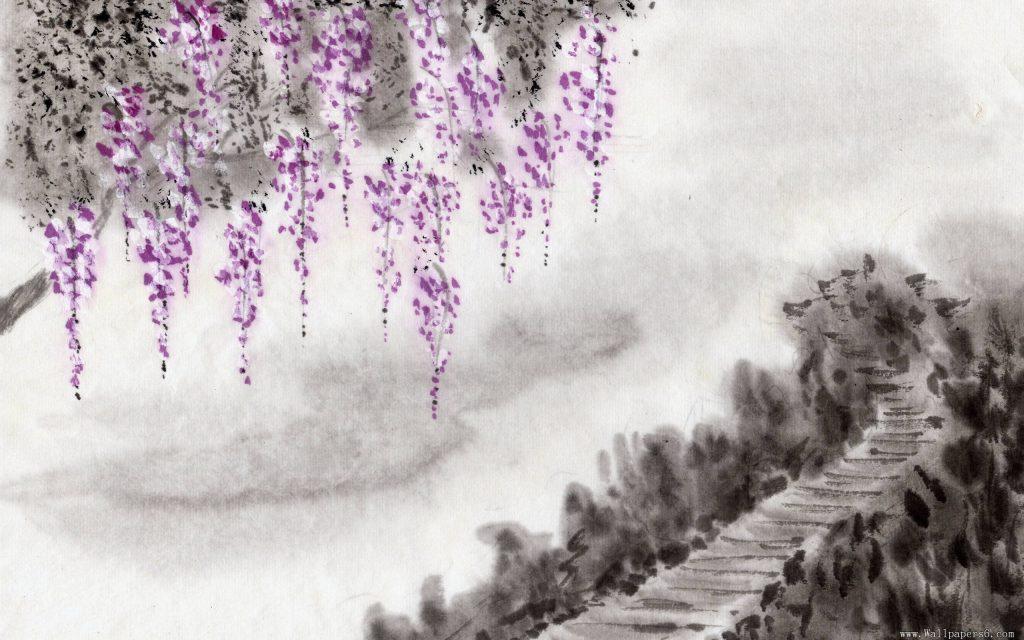 Tranh phong cảnh của Lý Tư Huấn.