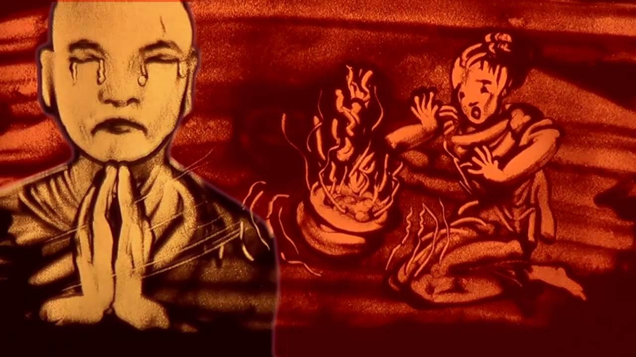 Tết Trung Nguyên có nguồn gốc từ lễ Vu Lan Bồn trong truyền thuyết Phật giáo về sự tích Bồ tát Mục Kiền Liên đại hiếu cứu mẹ kiếp quỷ đói.