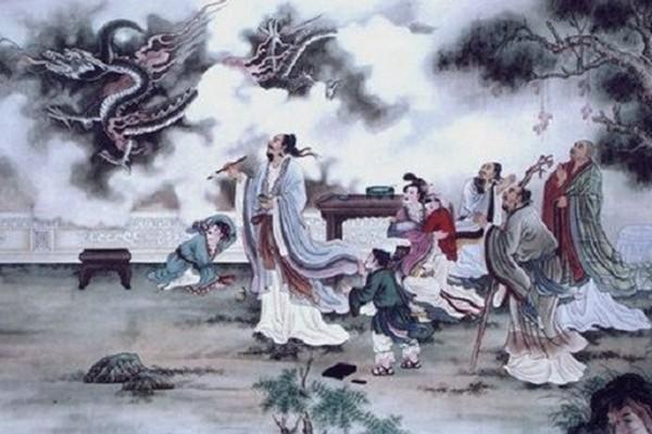 Trương Tăng Dao điểm mắt cho rồng khiến rồng bay lên trời.