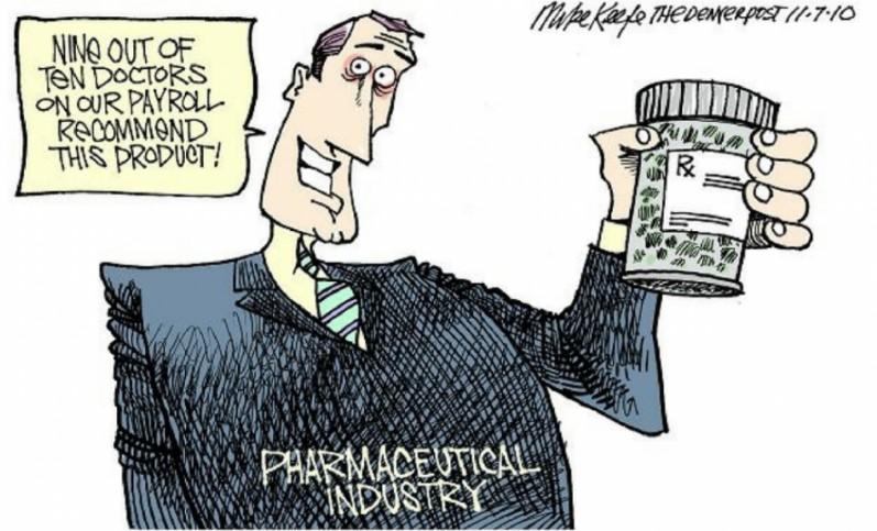 """Big Pharma với thủ đoạn tiếp thị vô đối để bán """"nỗi sợ bị loãng xương"""" cho người tiêu dùng.1"""