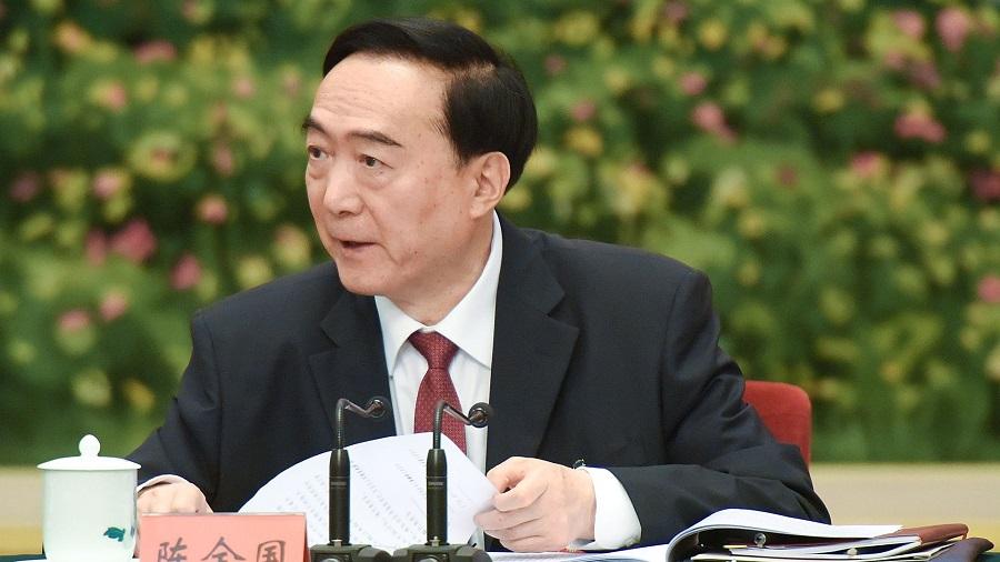 Bí thư Tân Cương Trần Toàn Quốc với tuyên bố cho thấy việc ĐCSTQ đang cưỡng bức trẻ em