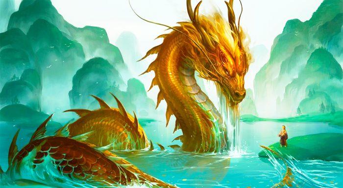 Thư sinh hô lớn 3 tiếng cứu mạng rồng vàng, liền nhận được bảo vật quý hiếm.1