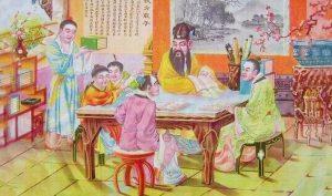 Bỏ ác hành thiện, Đậu Yên Sơn sinh hạ được năm con trai vang danh thiên hạ