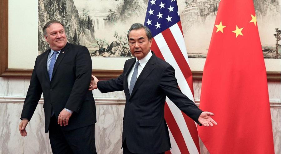 Ngoại trưởng Mỹ Pompeo và Trung Quốc đã có cuộc gặp thiếu hiệu quả hồi đầu tháng 10 vừa qua.