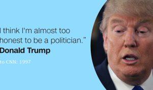 'Trump có thể là tổng thống trung thực nhất lịch sử nước Mỹ'