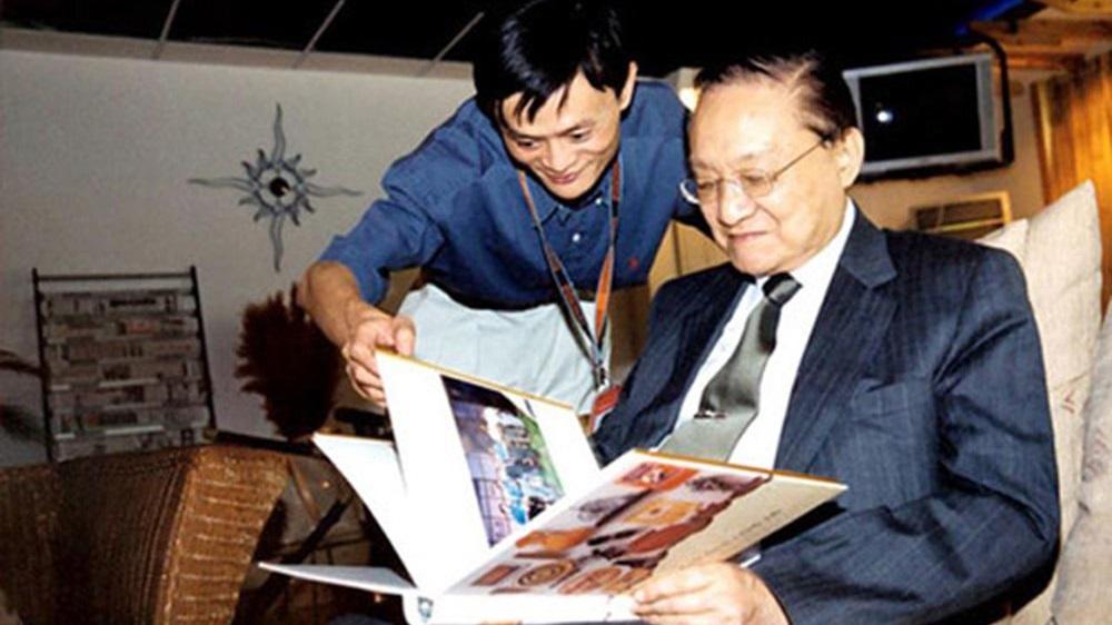 Mối quan hệ giữa Kim Dung và Jack Ma không phải tầm thường.